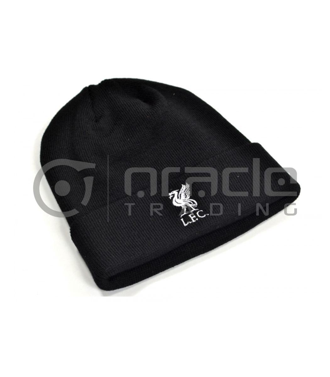 Liverpool Fold-up Beanie - Black