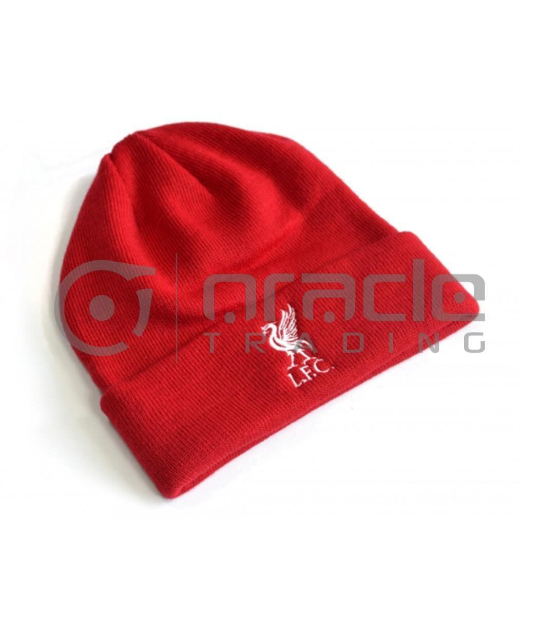 Liverpool Fold-up Beanie - Red