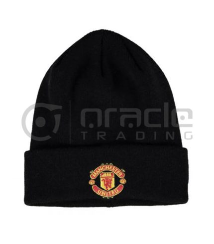 Manchester United Fold-up Beanie - Black