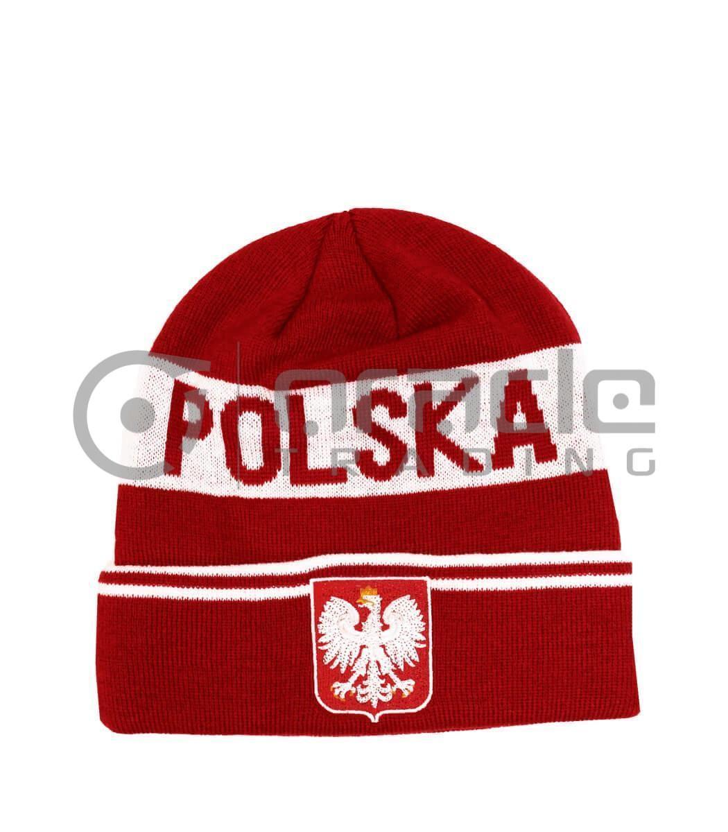 Poland Fold-up Beanie