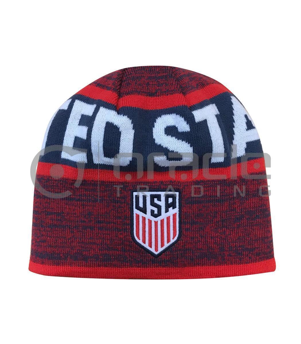 U.S. Soccer Beanie - Reversible