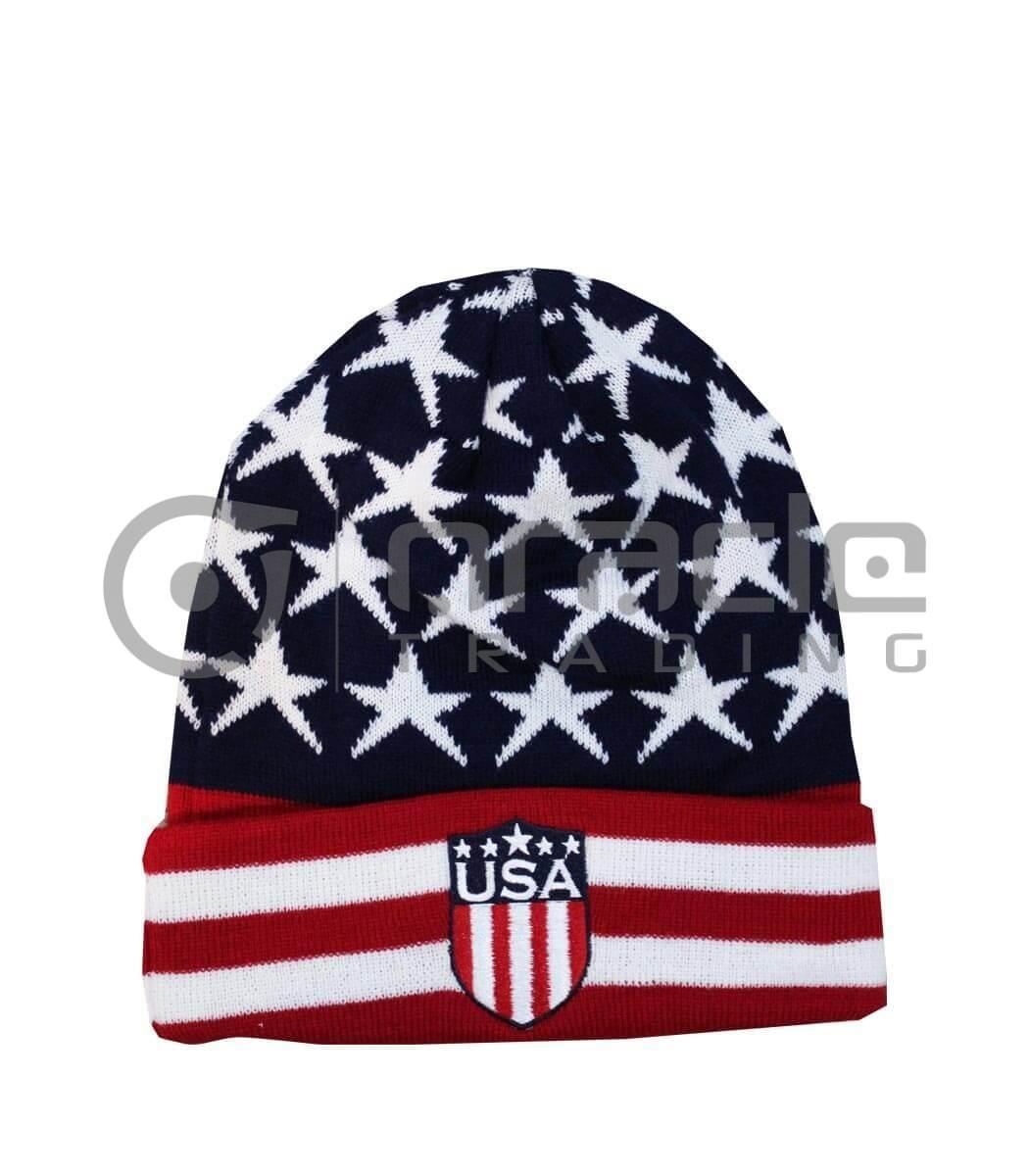 USA Fold-up Beanie