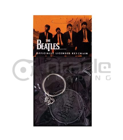 The Beatles Bass Drum Keychain