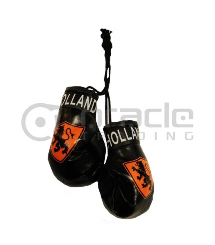 Holland Boxing Gloves - Black