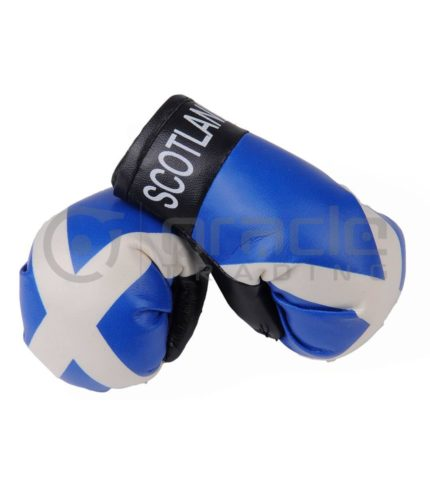 Scotland Boxing Gloves - St. Andrew's Cross