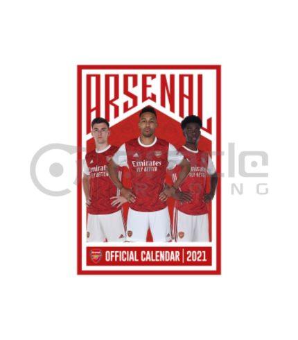 Arsenal 2021 Calendar