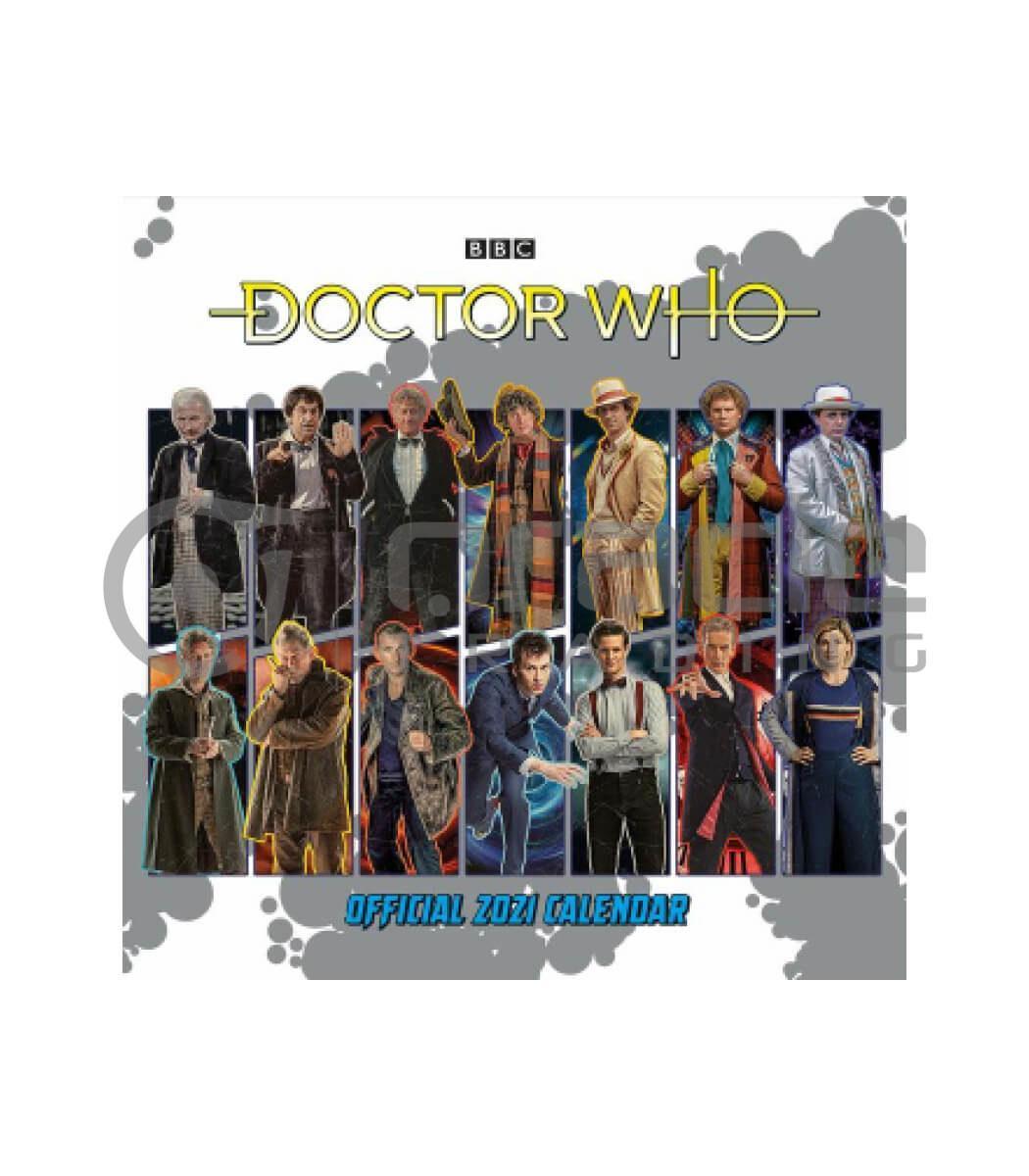 Doctor Who 2021 Calendar