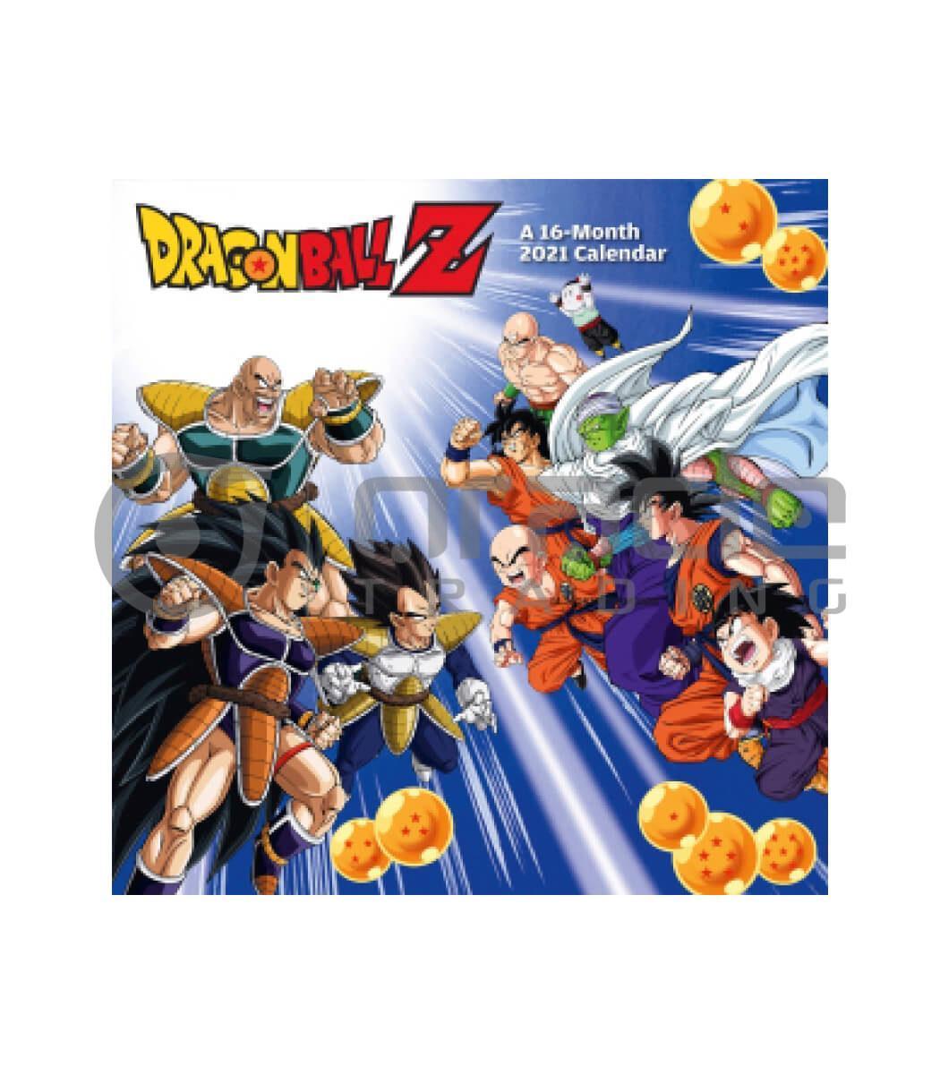Dragon Ball Z 2021 Calendar