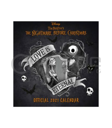 Nightmare Before Christmas 2021 Calendar