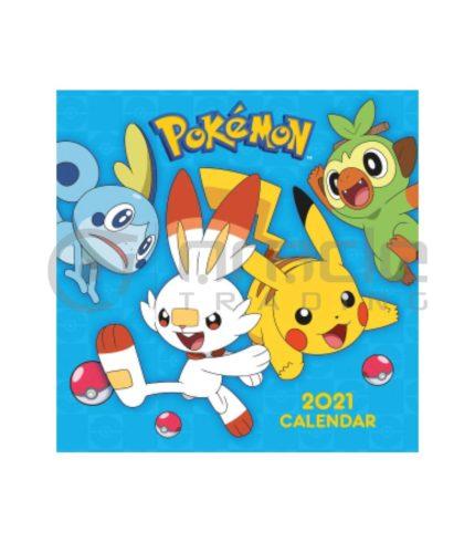 Pokémon 2021 Calendar