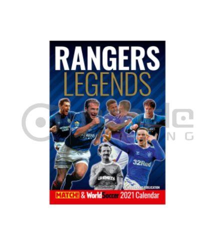 Rangers 2021 Calendar