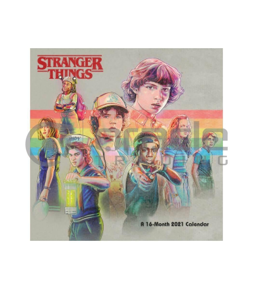 Stranger Things 2021 Calendar