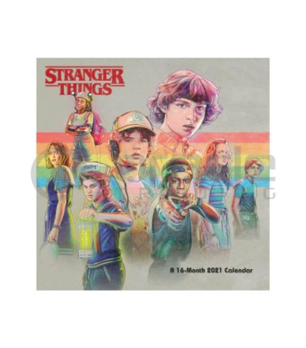 Stranger Things 2021 Calendar