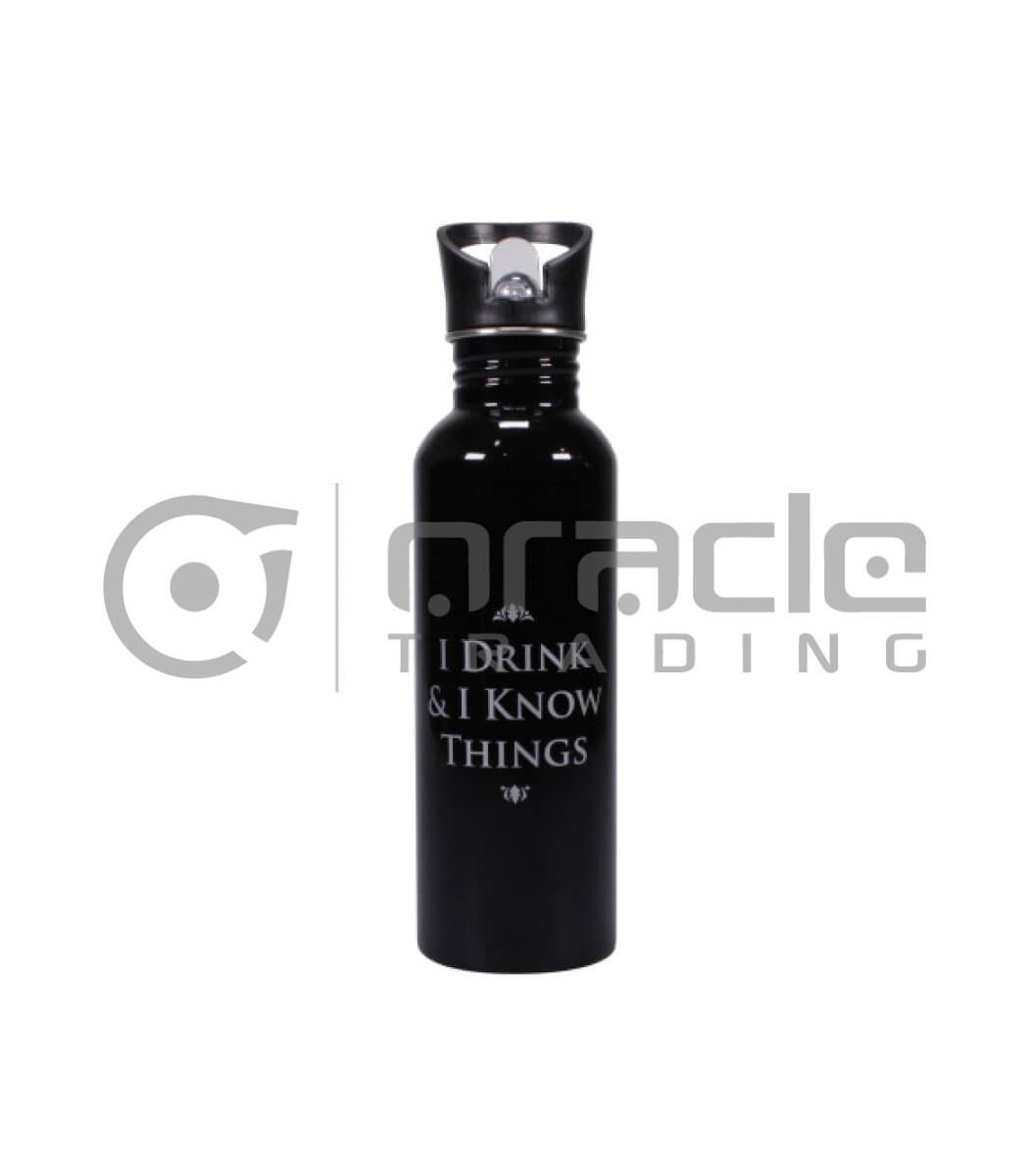 I Drink & I Know Things Canteen Bottle