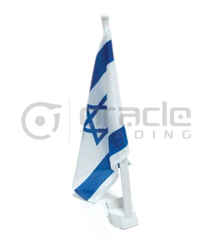 Israel Car Flag