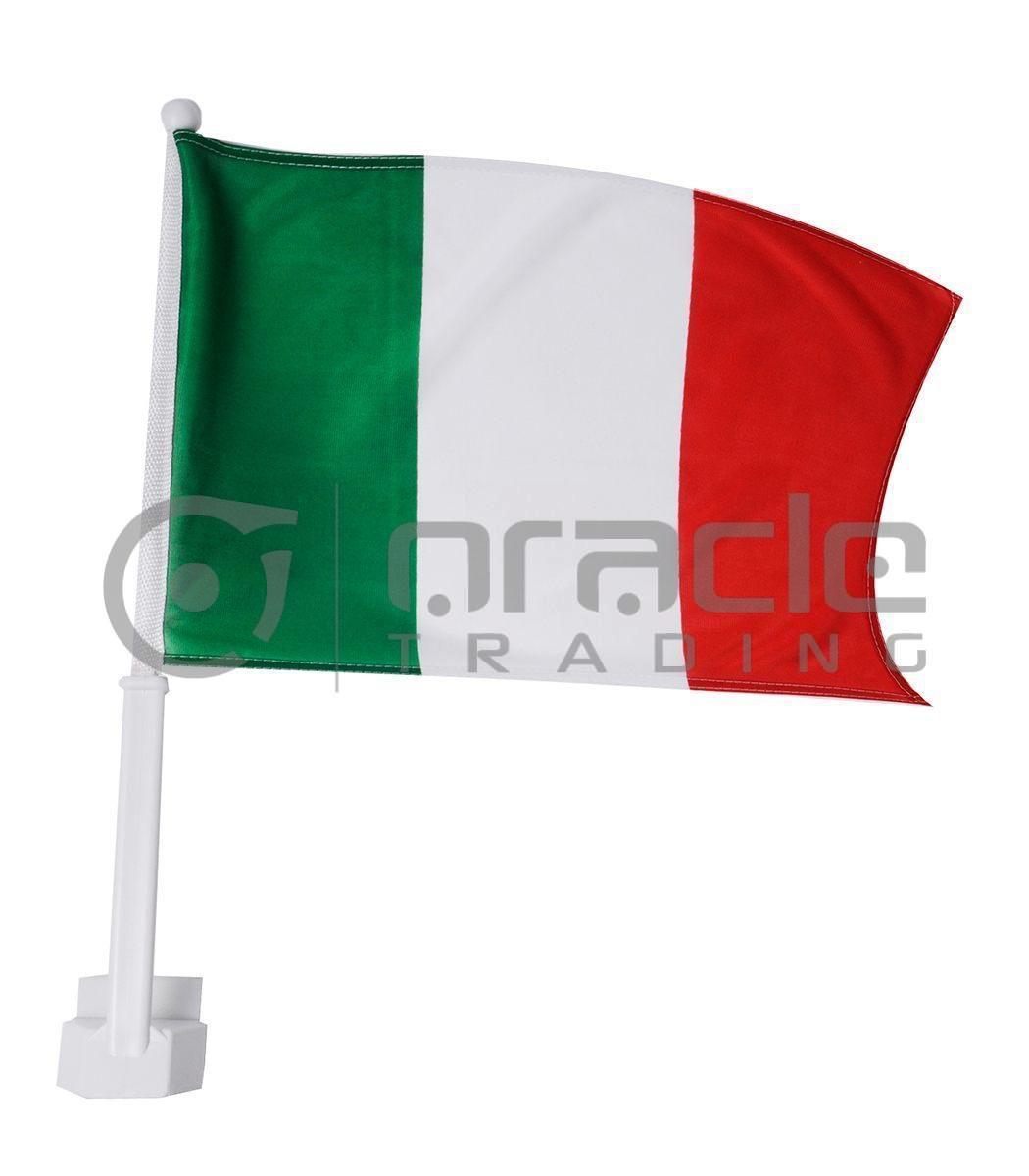 Italia Car Flag