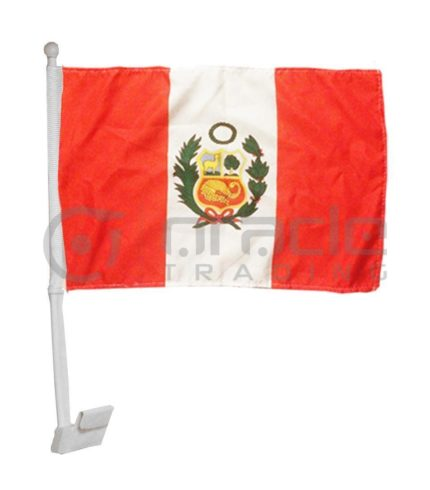 Peru Car Flag
