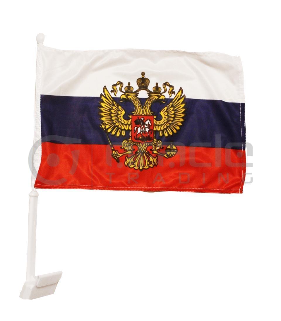 Russia Car Flag