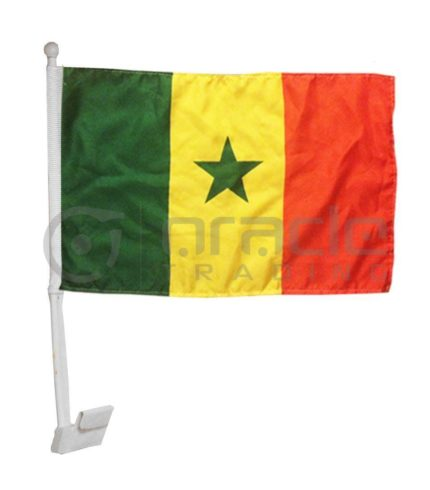 Senegal Car Flag