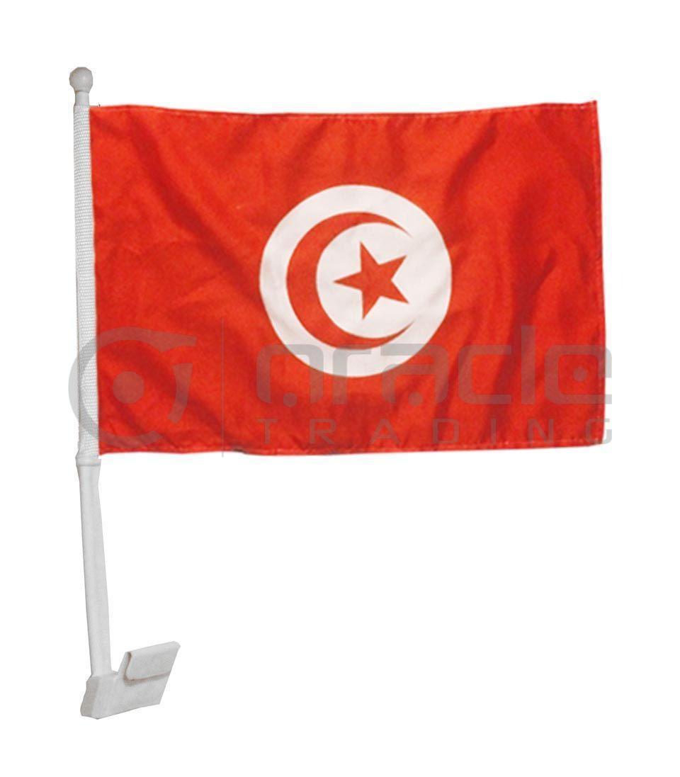 Tunisia Car Flag