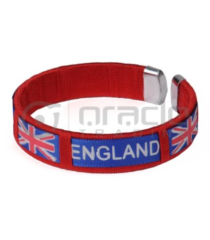 England C Bracelets 12-Pack (Union Jack)