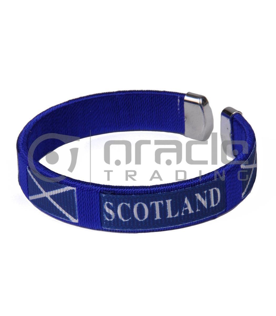 Scotland C Bracelets 12-Pack (St. Andrew's Cross)