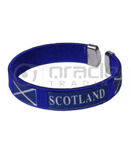 Scotland C Bracelets 12-Pack (St. Andrew's Cross)