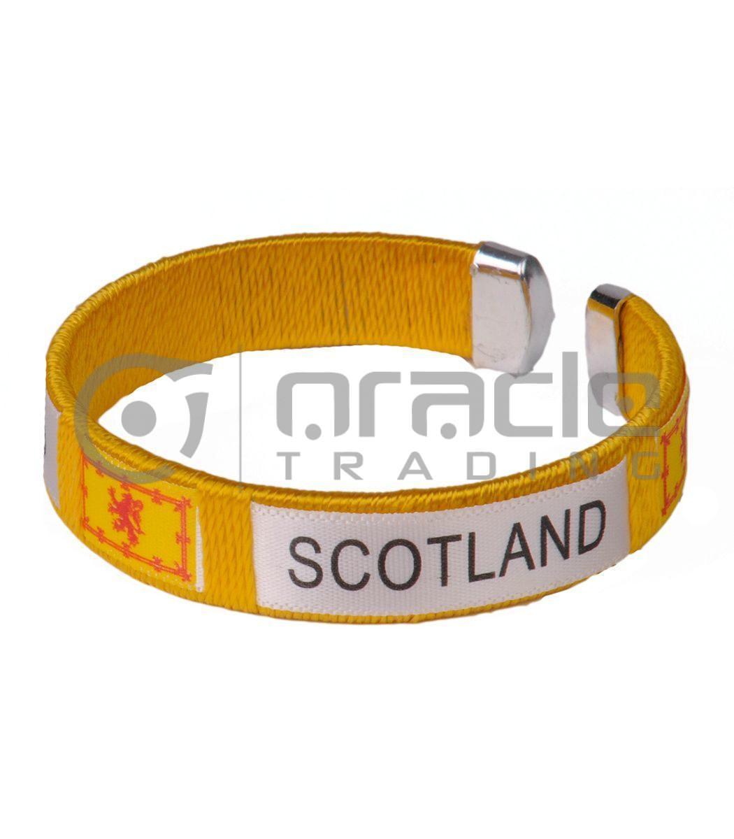 Scotland C Bracelets 12-Pack (Rampant Lion)