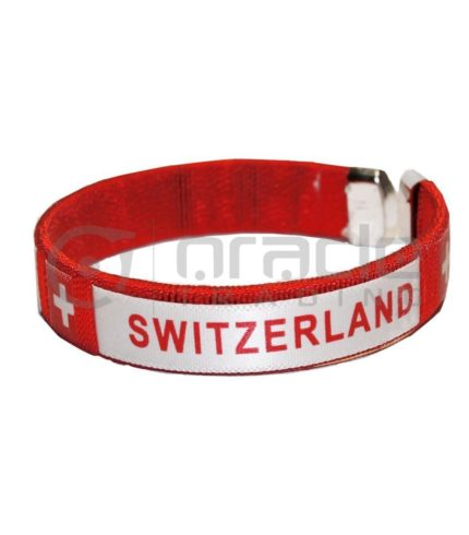 Switzerland C Bracelets 12-Pack