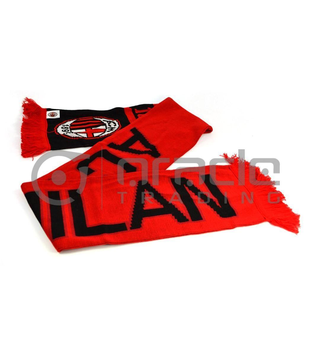 AC Milan Knitted Scarf - UK Made