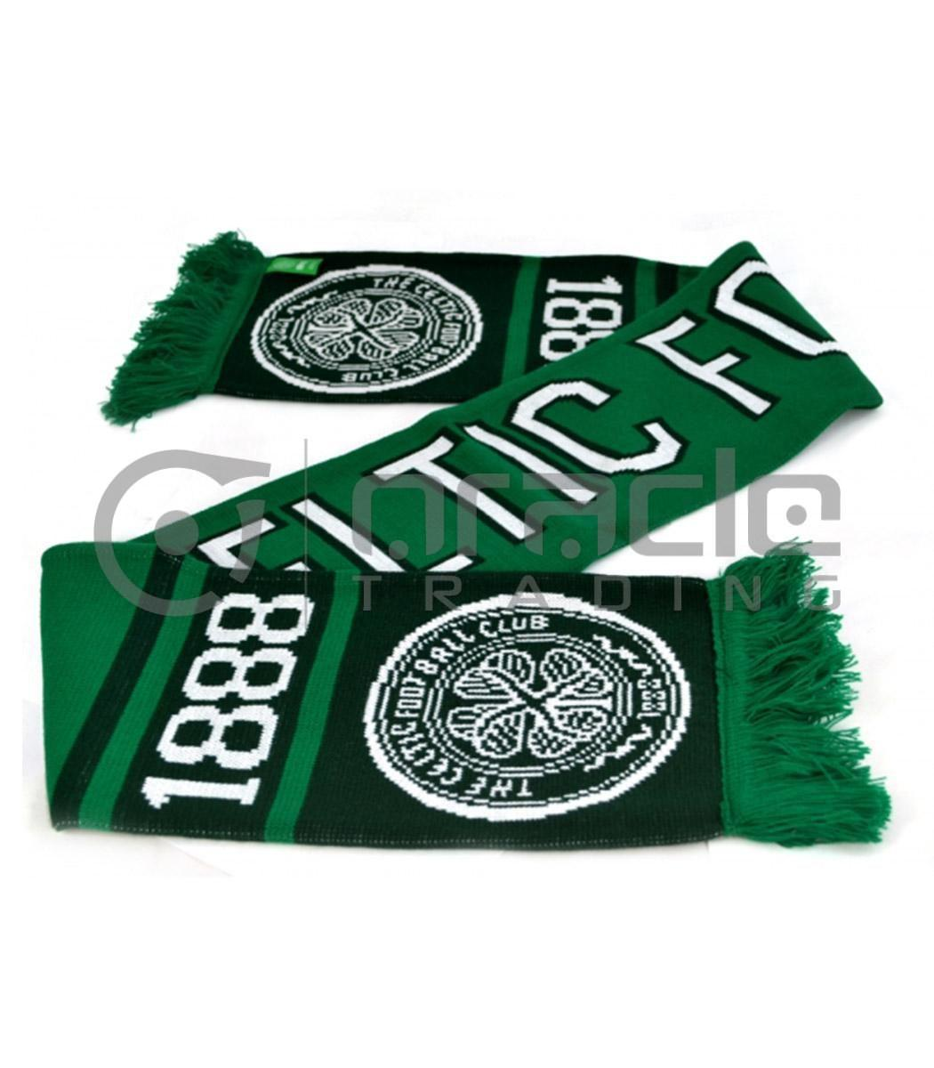 Celtic Knitted Scarf - UK Made