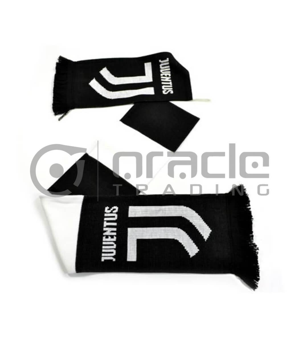 Juventus Knitted Scarf - UK Made (White)