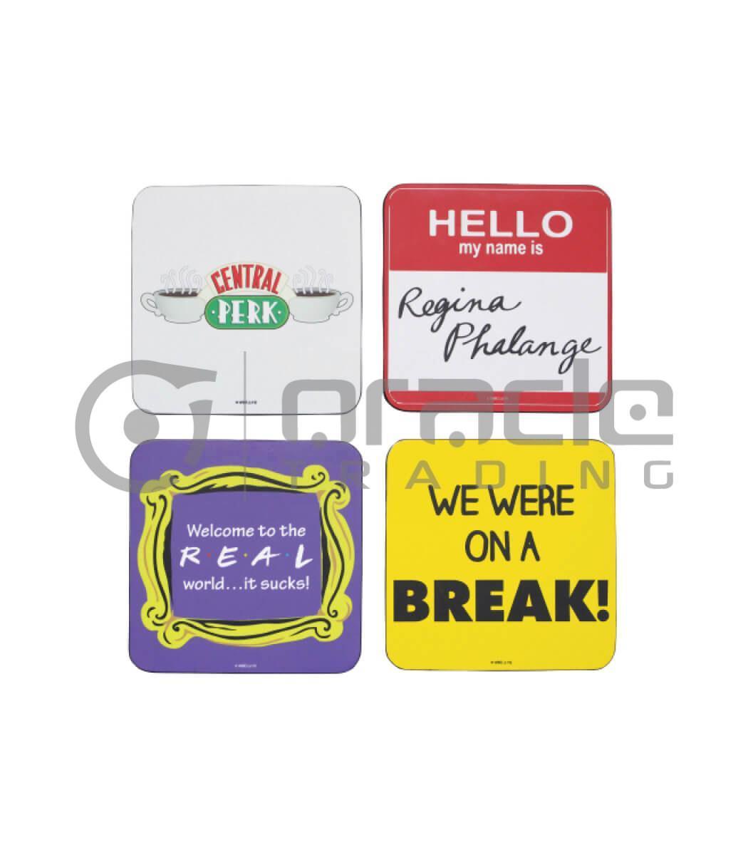 Friends 4-Pack Coaster Set