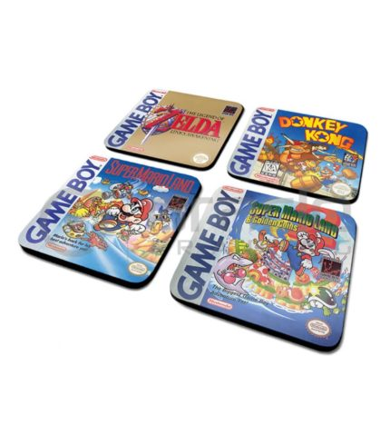 Gameboy 4-Pack Coaster Set