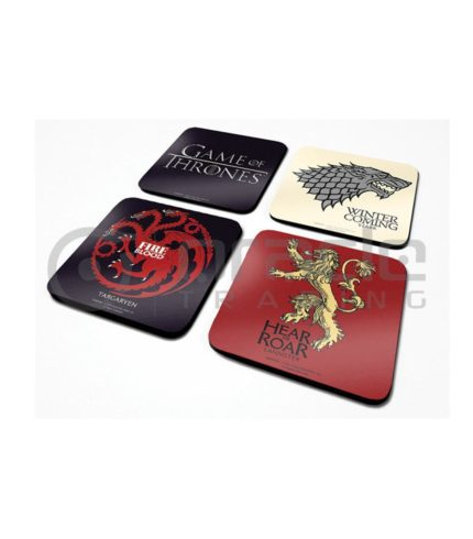 Game of Thrones 4-Pack Coaster Set
