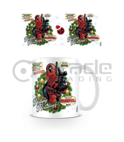 Deadpool Mug - Happy Holidays