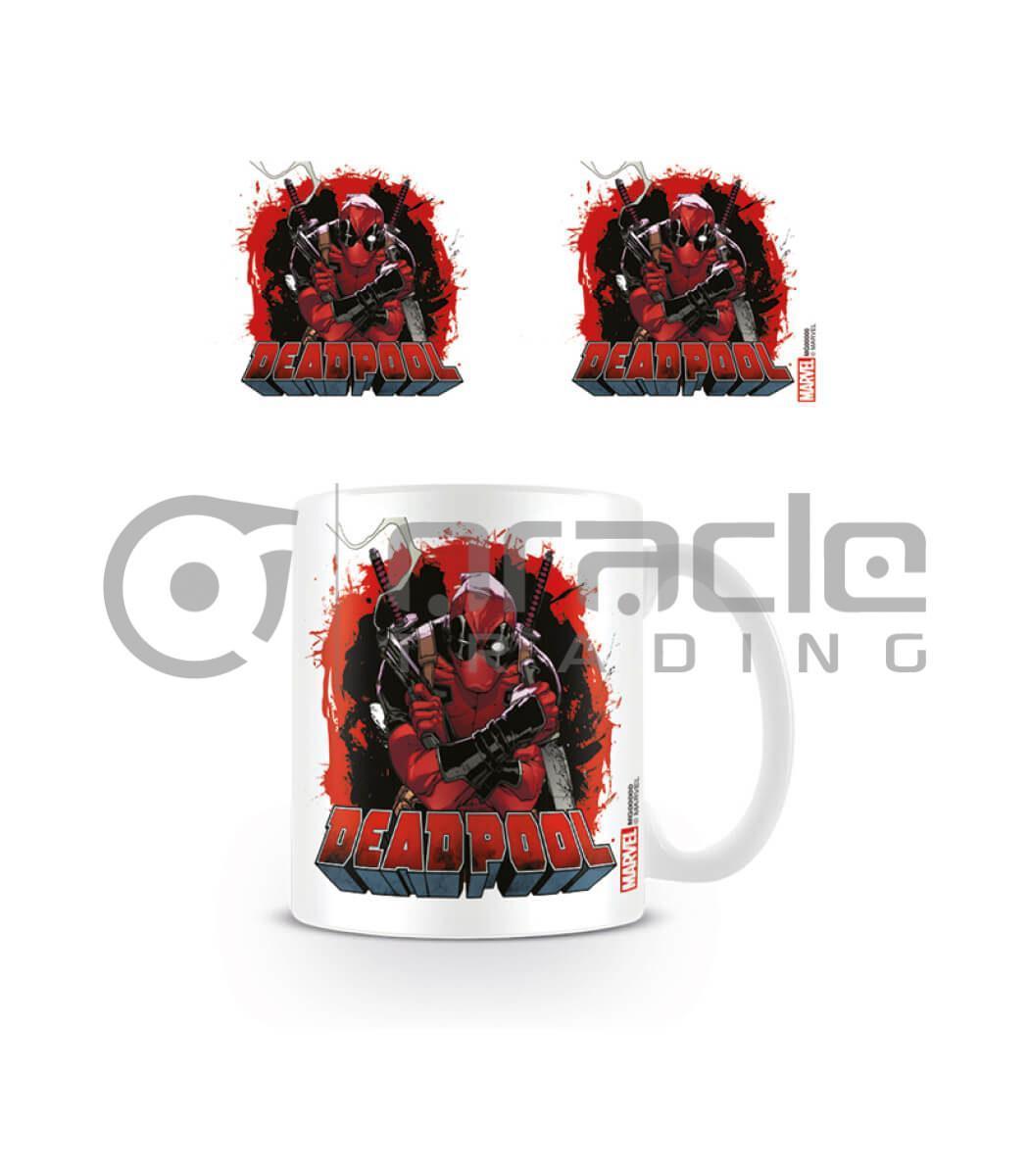 Deadpool Mug - Smoking Gun