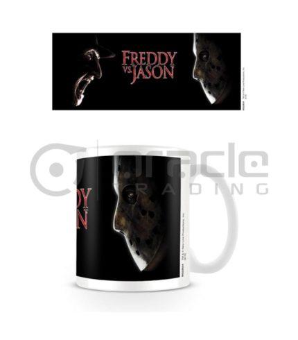Freddy vs. Jason Mug - Face-Off