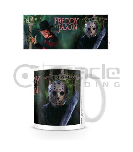 Freddy vs. Jason Mug - Stomping Grounds
