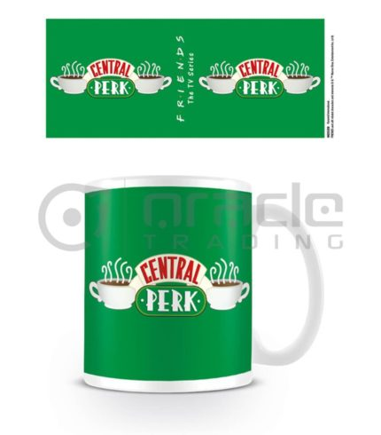 Friends Mug - Central Perk (Green)