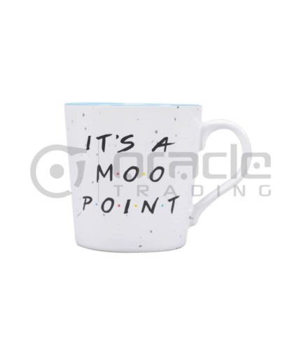 Friends Mug - Moo Point (Fancy)