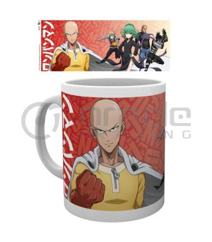 One Punch Man Mug - Group