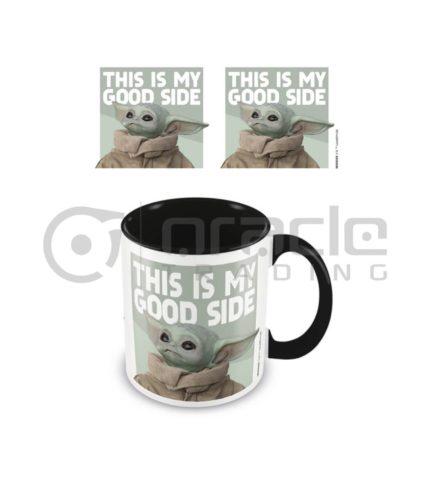 Star Wars: The Mandalorian Mug - Good Side - Inner Coloured