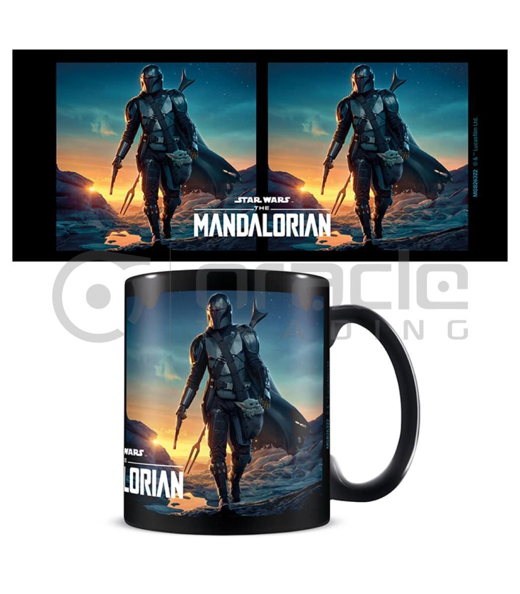 Star Wars: The Mandalorian Mug - Nightfall (Inner Coloured)