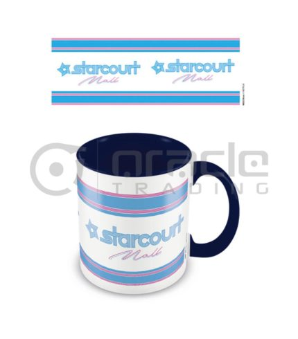 Stranger Things Mug - Starcourt Mall - Inner Coloured
