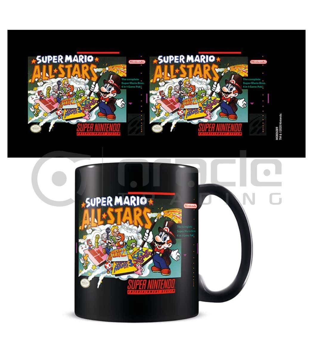 Super Mario Mug - All Stars (Inner Coloured)