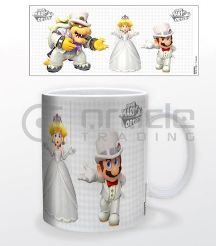 Super Mario Mug - Who Will She Choose
