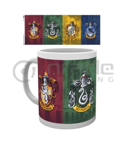 Harry Potter All Crests Mug