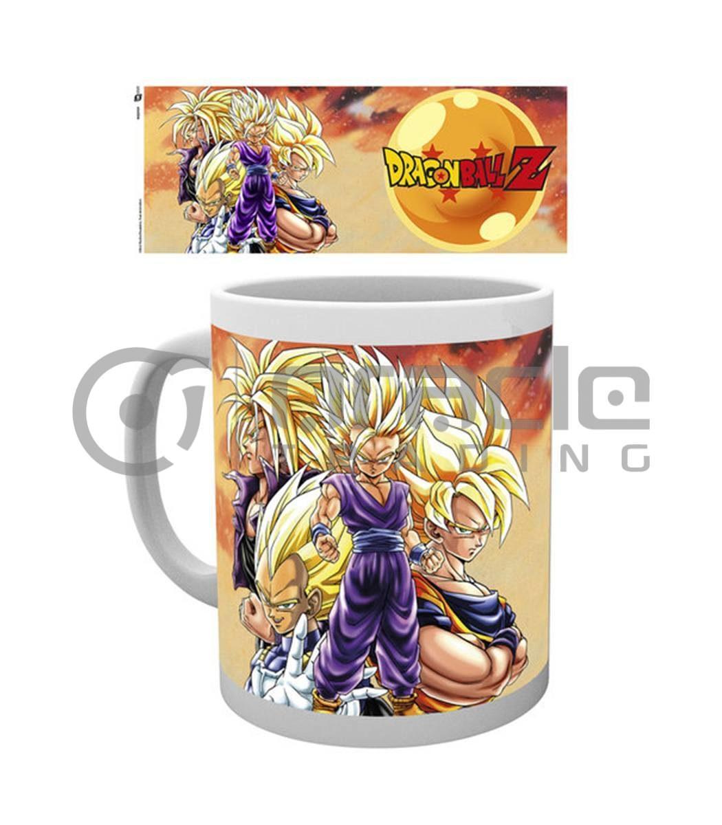 Dragon Ball Z Mug - Super Saiyans