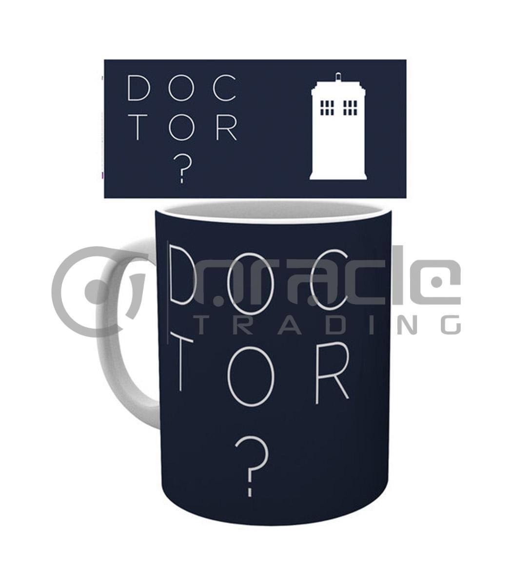 Doctor Who Question Mark Mug